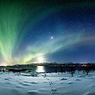 Panoramic Aurora by Frank Olsen