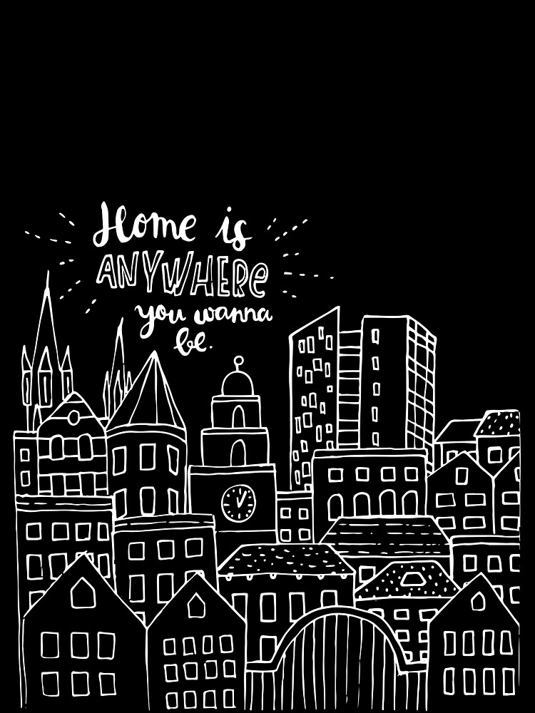 Home is anywhere - Colorful by mirunasfia