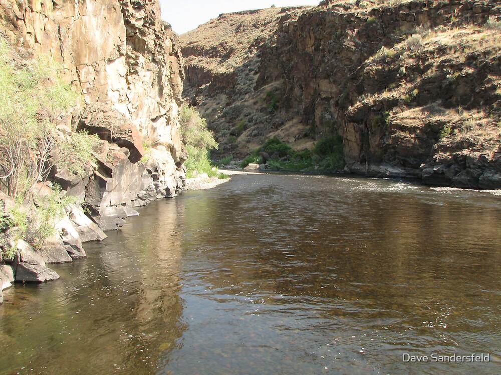 John Day River in Central Oregon by Dave Sandersfeld