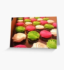 For the love of cupcakes Greeting Card