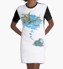 If Dogs Chase Cars... Graphic T-Shirt Dress