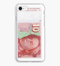 10 Old Swiss Franc Note bill iPhone Case/Skin