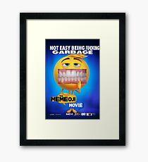 emoji movie Framed Print