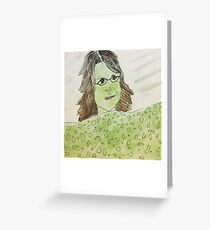 the clinique lady says i have witch undertones Greeting Card