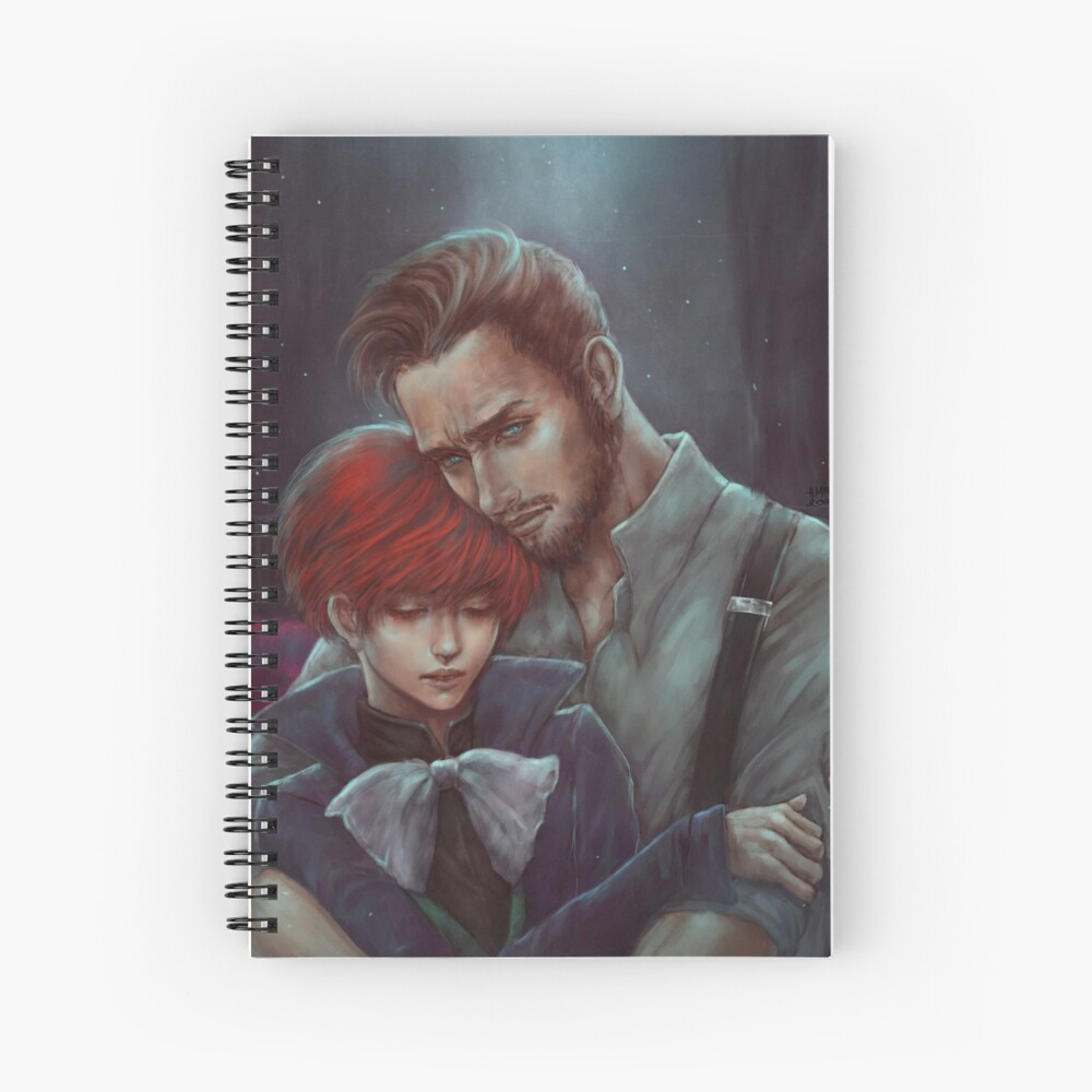 Vile Bodies: Brotherly Love Spiral Notebook