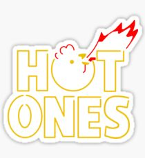 Hot Ones  Sticker
