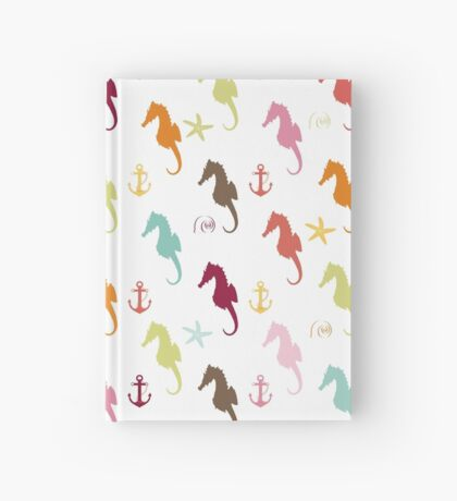 AFE Colorful Seahorse Pattern Hardcover Journal