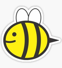 buzzing bee Sticker