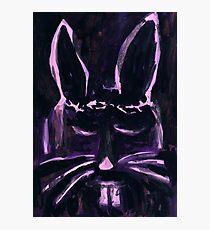 Bunny Shroud Photographic Print