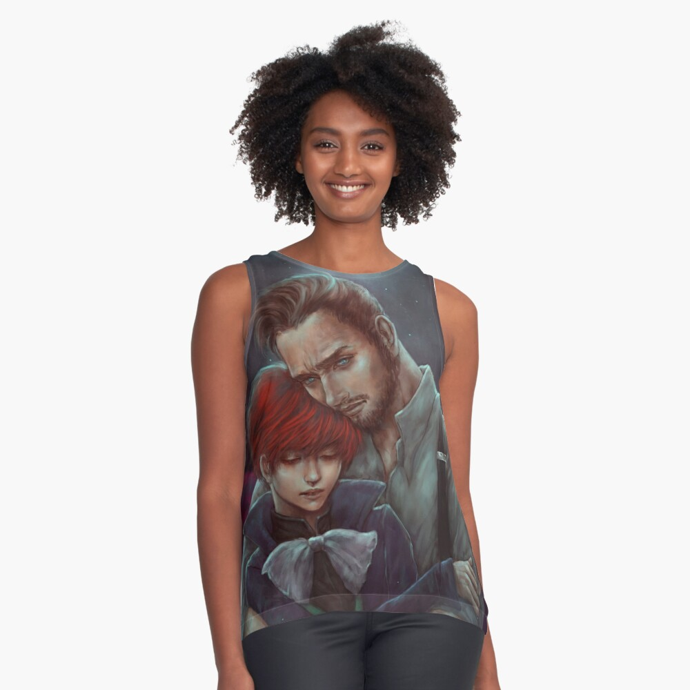 Vile Bodies: Brotherly Love Contrast Tank Front