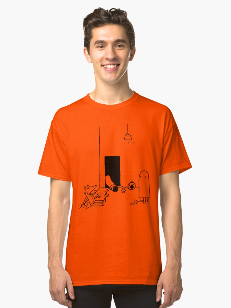 THE GHOSTS WILL SPOOK THE SPOOKS WILL SCARE Classic T-Shirt Front