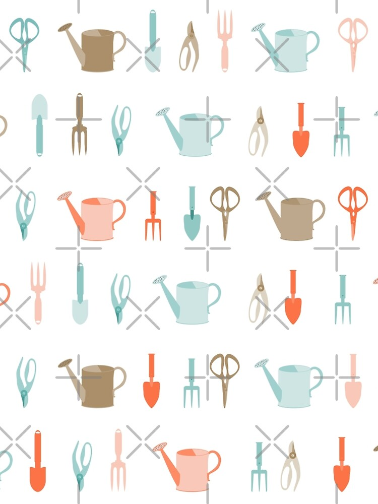 AFE Gardening Tools Pattern by afeimages1