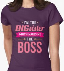 Big Sister Boss Women's Fitted T-Shirt