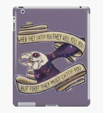 Rabbit death iPad Case/Skin