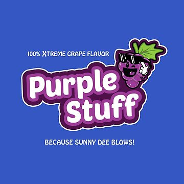 Purple Stuff by MadeWithAwesome