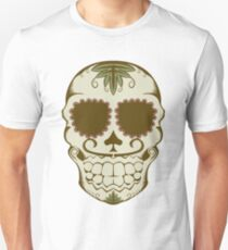 Illustration of sugar skull  T-Shirt