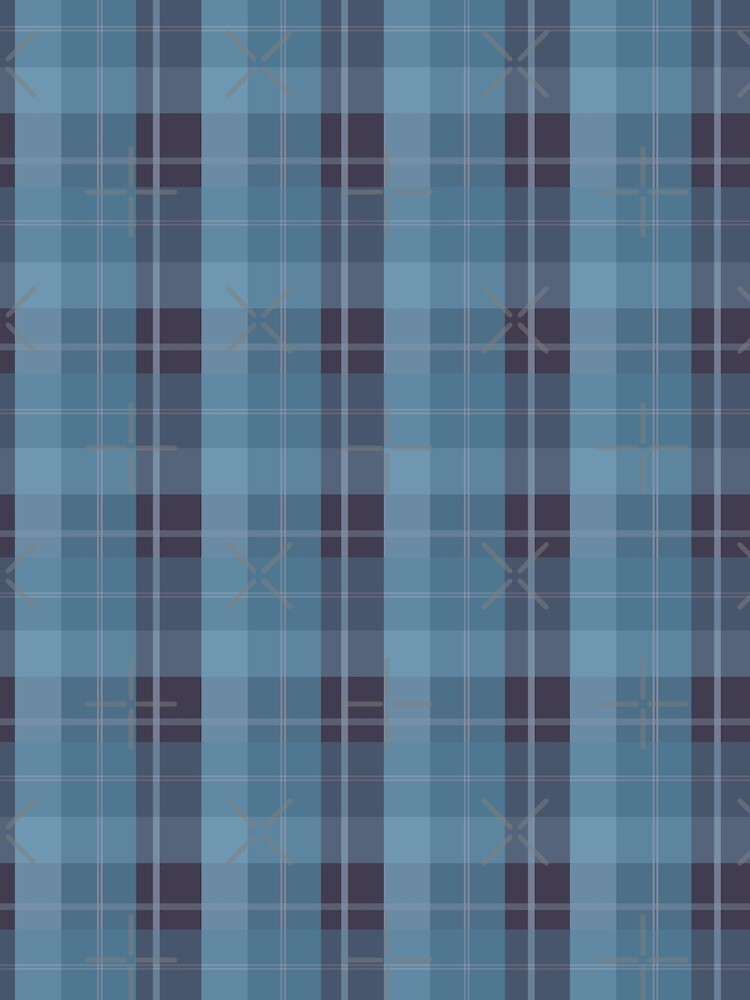 AFE Blue Plaid Pattern II by afeimages1