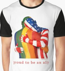 LGBT Ally Graphic T-Shirt