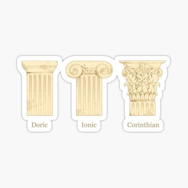 Column Orders - Creme Sticker