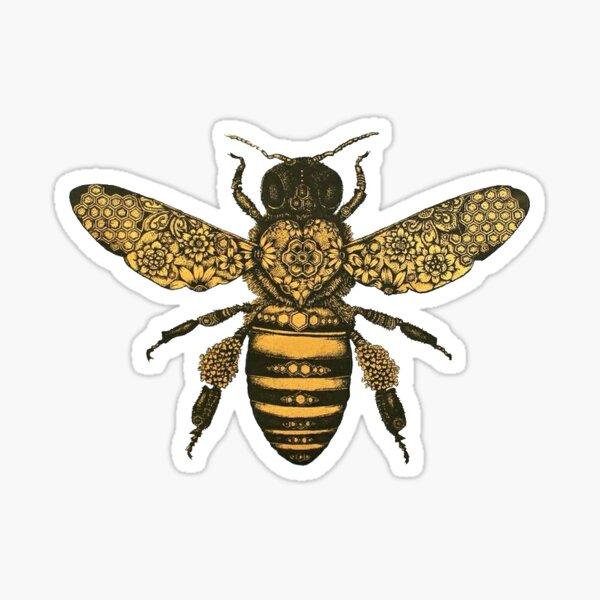 aureum bee Sticker