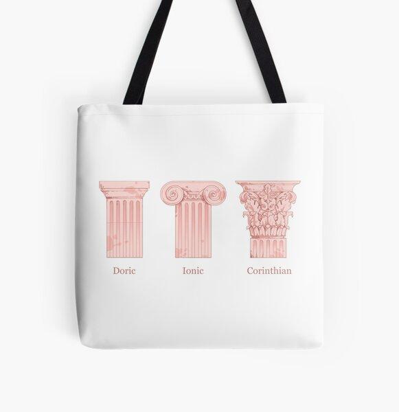 Column Orders - Rose All Over Print Tote Bag