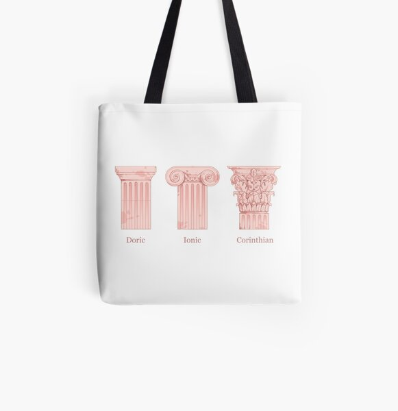 Column Orders - Rose All Over Print Tote Bag