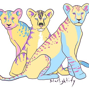 Nonbinary pansexual pride by starlightify