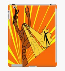 Attack of the giant robot iPad Case/Skin