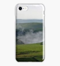 Low Lying Cloud in Winnats Pass iPhone Case/Skin