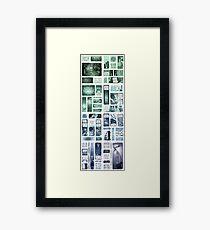 Elsewhere University - Vertical Framed Print