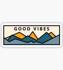 Good Vibes In the Mountains Sticker