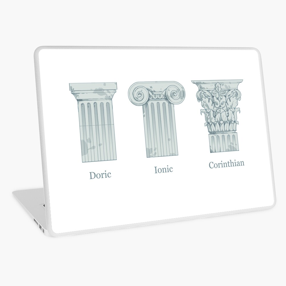Column Orders - Slate Laptop Skin