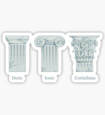 Column Orders - Slate Sticker
