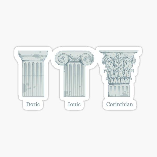 Column Orders - Slate Sticker