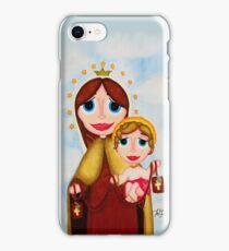 Our Lady of Mount Carmel iPhone Case/Skin