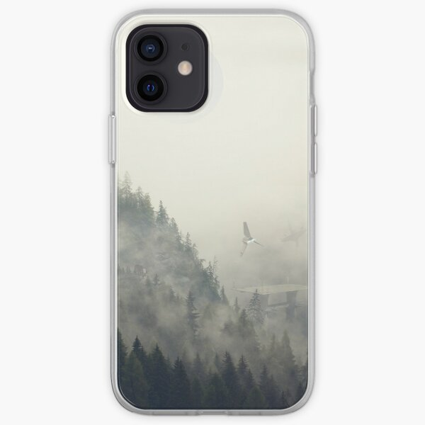 Bosque luna Funda blanda para iPhone