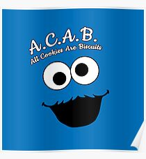 All cookies are biscuits  Poster
