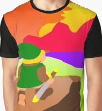 Hyrulean Sunset Graphic T-Shirt