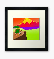 Hyrulean Sunset Framed Print