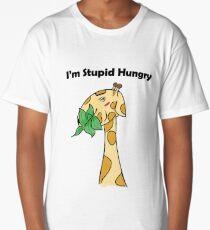 A Stupid Hungry Giraffe Long T-Shirt