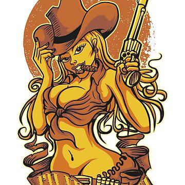 Gun woman by jairodota10