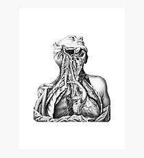 Anatomical Head and Torso Photographic Print