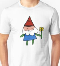 Gnome with Flower T-Shirt