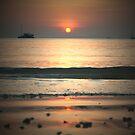 Sunset (again) over Railay Beach by Keiran Lusk