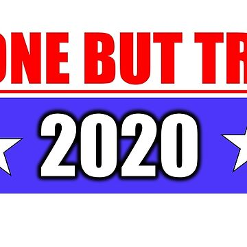 Anyone But Trump 2020 by boboberry17
