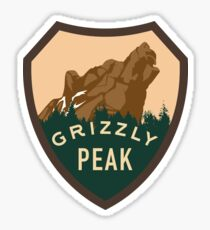 Grizzly Peak Sticker