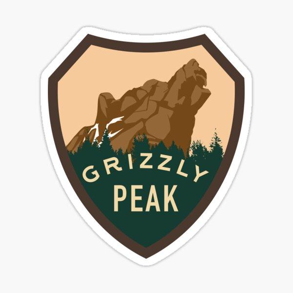 Grizzly Peak Pegatina