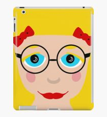 Blond Hair Blue Eyed Girl iPad Case/Skin