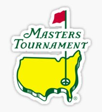The Masters Golf Logo Sticker