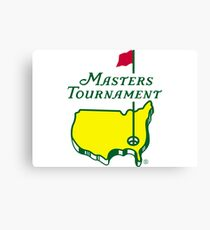 The Masters Golf Logo Canvas Print